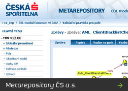 Metarepository ČS a.s.